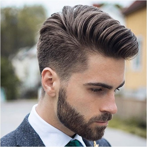 hairstyles for men with thick hair