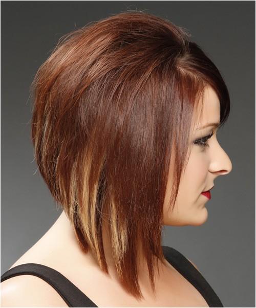 concave long layered haircut