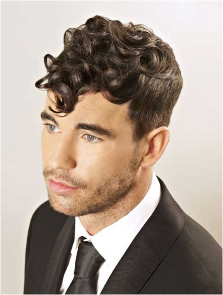 new curly hairstyles for men 2013