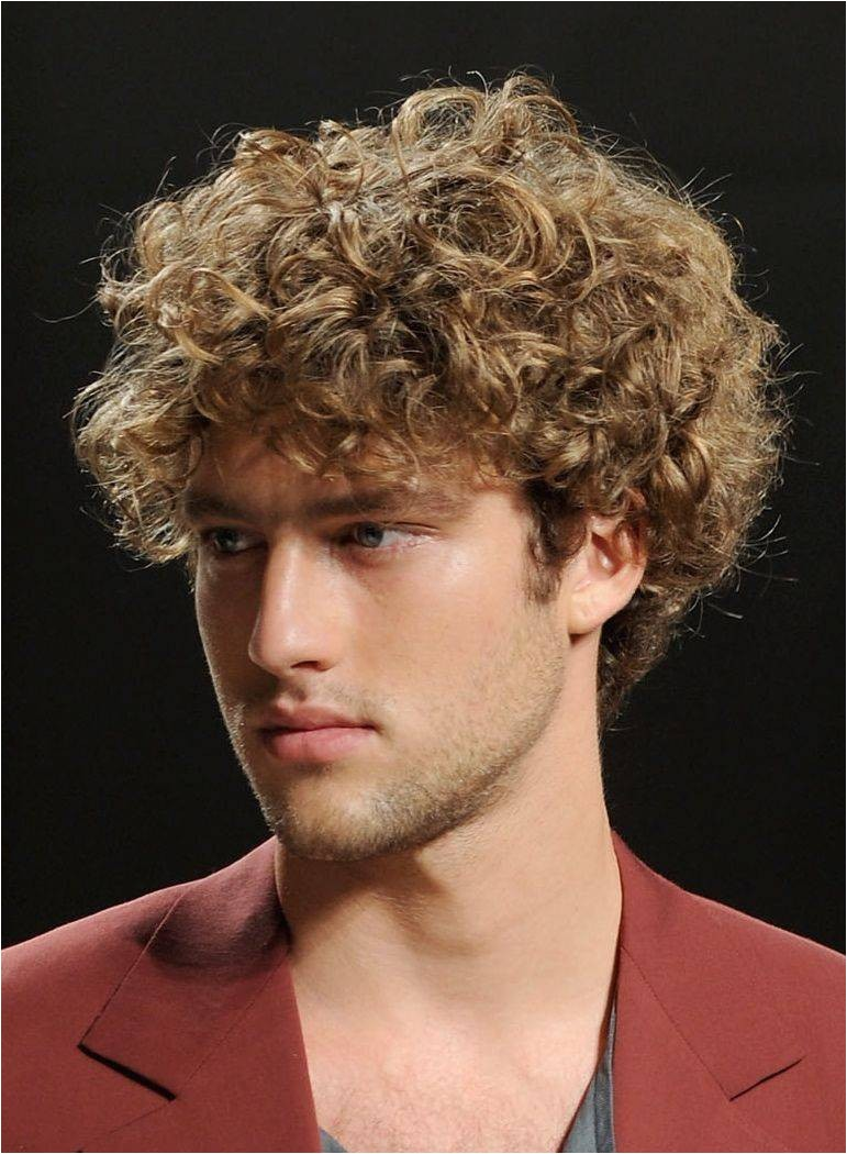 short curly hairstyles for men 2013