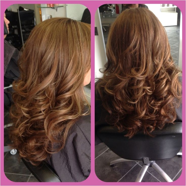 Curly Blow Dry Hairstyles 3