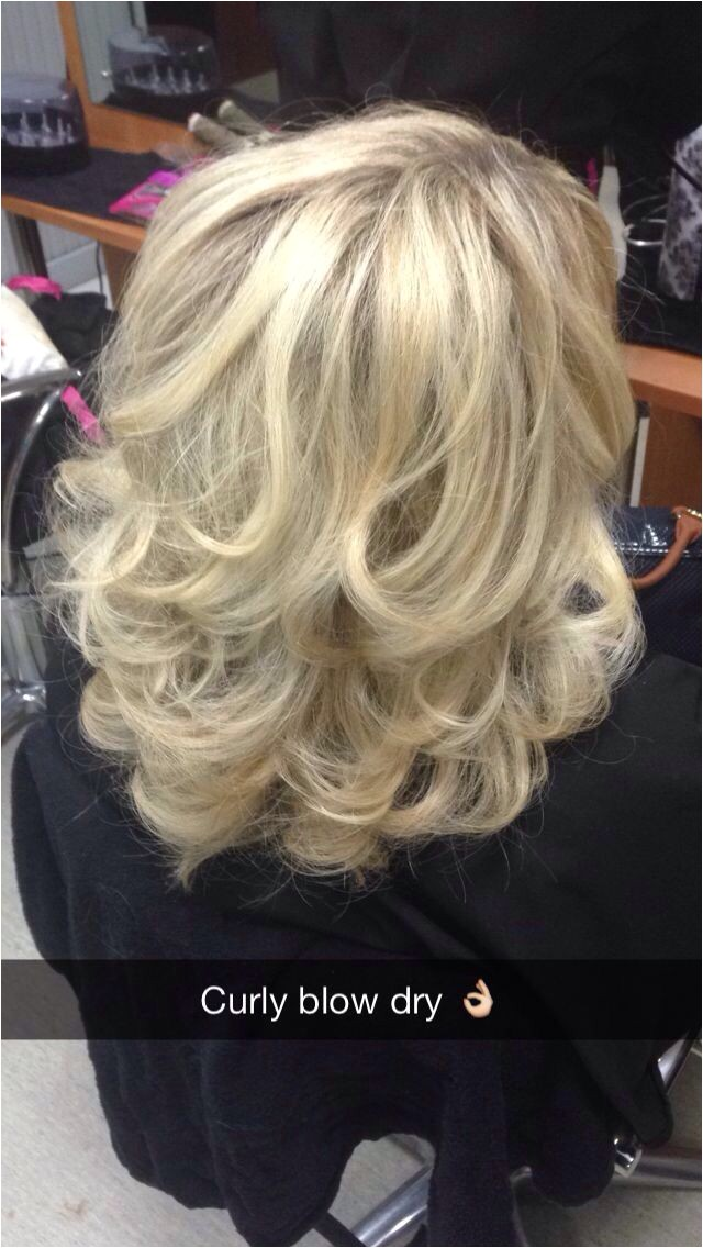 Curly Blow Dry Hairstyles 1
