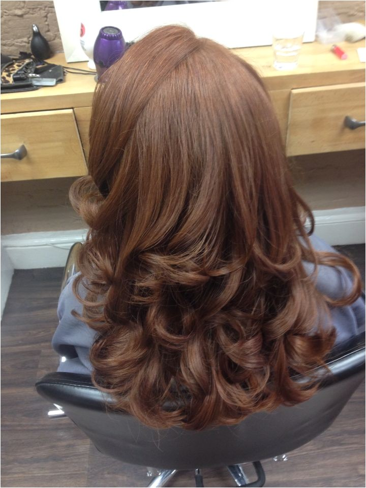 Curly Blow Dry Hairstyles 2