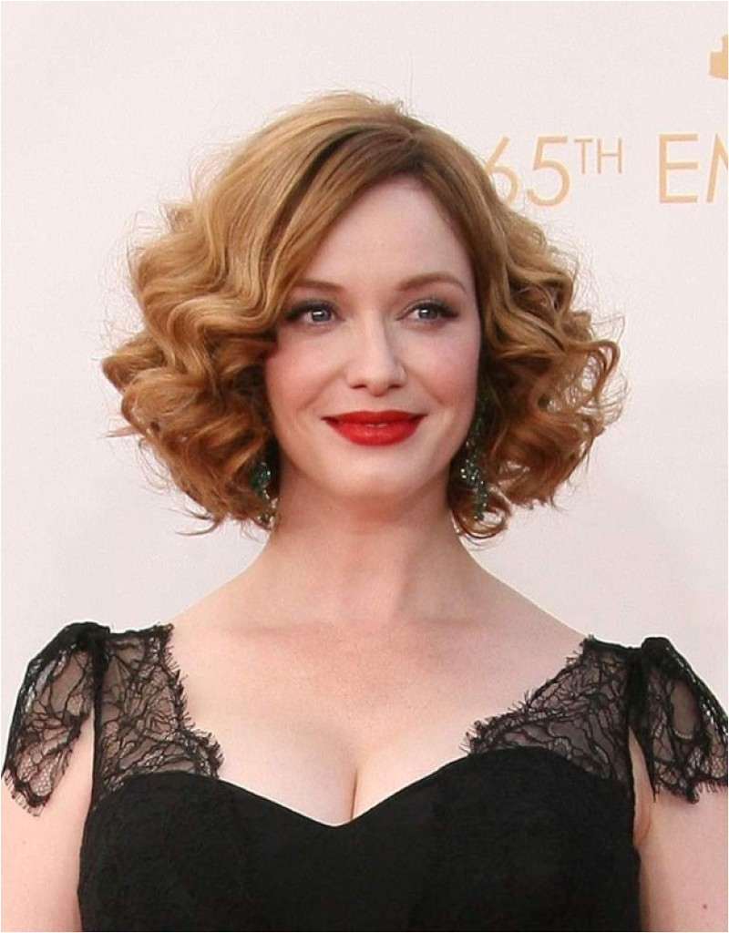 bob hairstyles for thin curly hair
