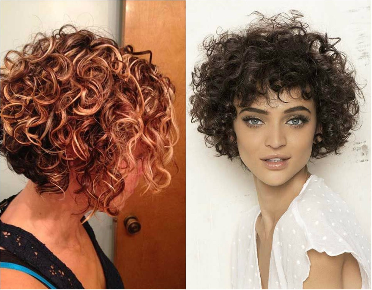 lovely short curly haircuts