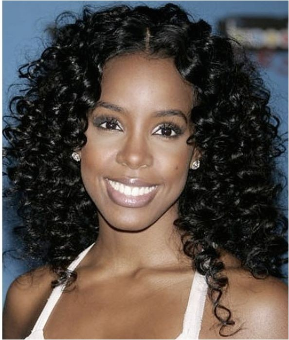 black curly hairstyles