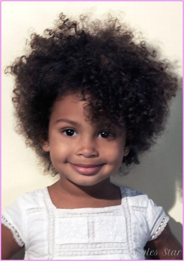 short haircuts little girls curly hair