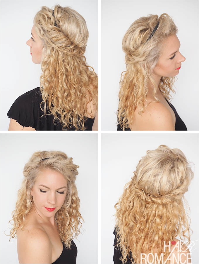 30 curly hairstyles 30 days day 17