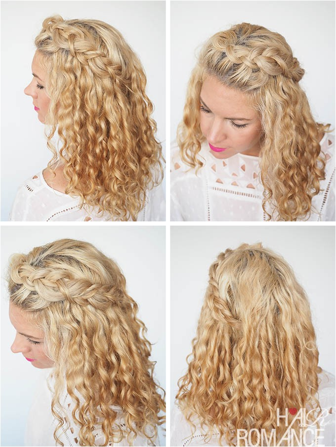 30 curly hairstyles 30 days day 2