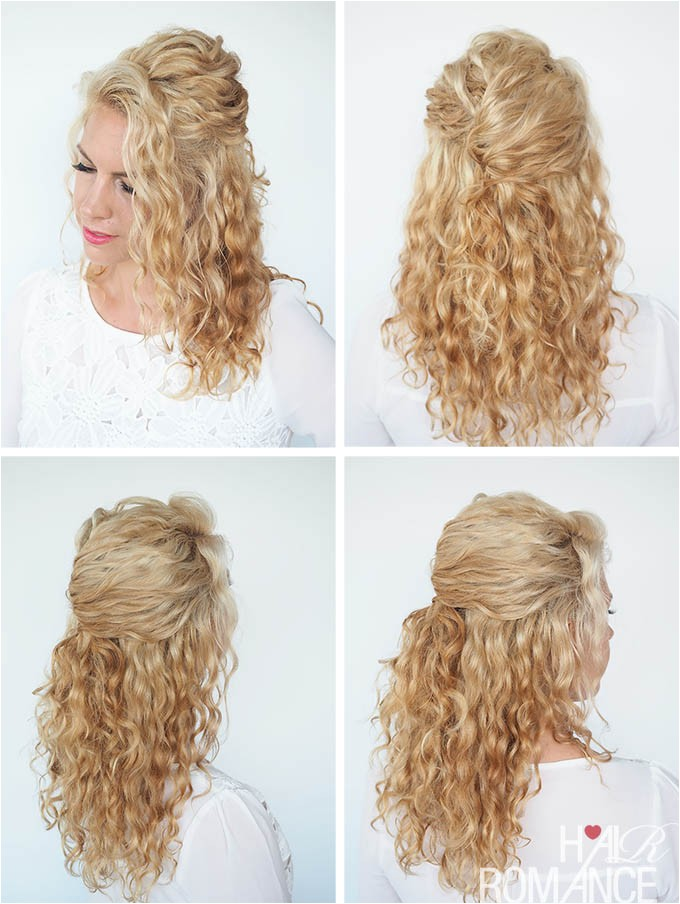 30 curly hairstyles 30 days day 6