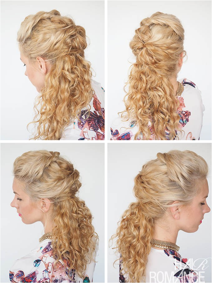 30 curly hairstyles 30 days day 7