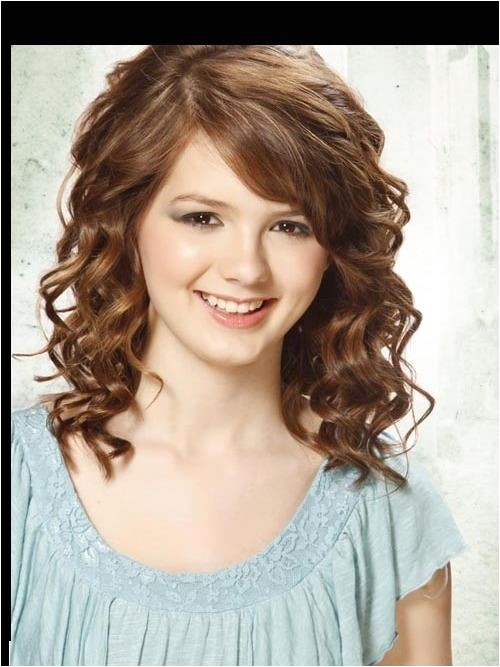 curly hairstyle ideas for teenage school girls