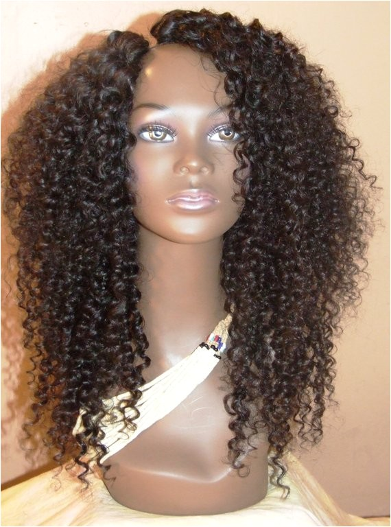 curly half wigs styles