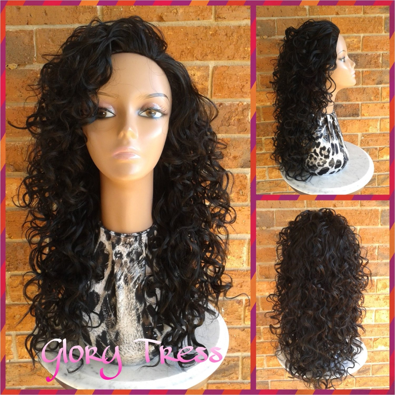 hairstyles for half wigs