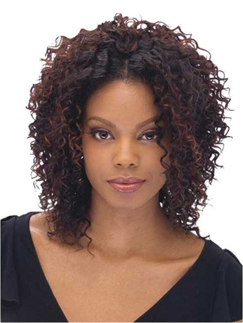 20 short curly weave hairstyles