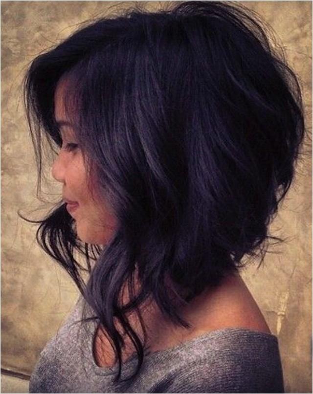 super cute asymmetrical bob hairstyles