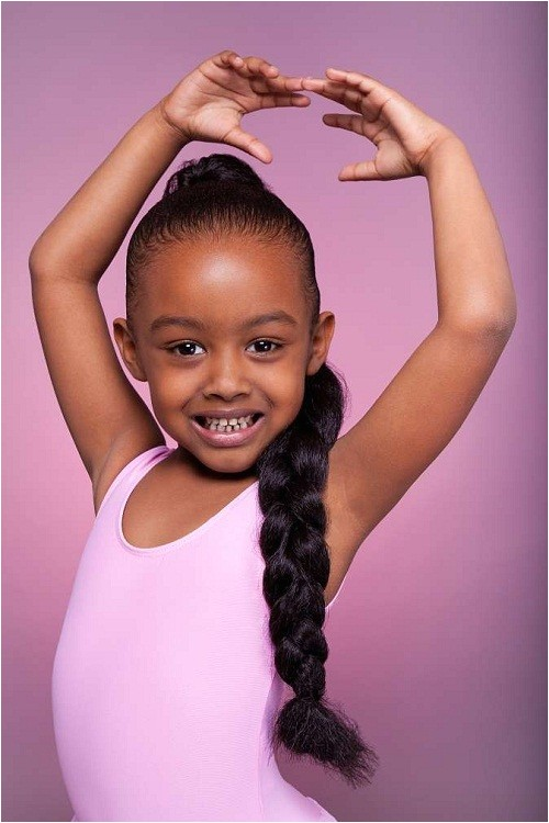cute quick hairstyles for black girls for daily activities