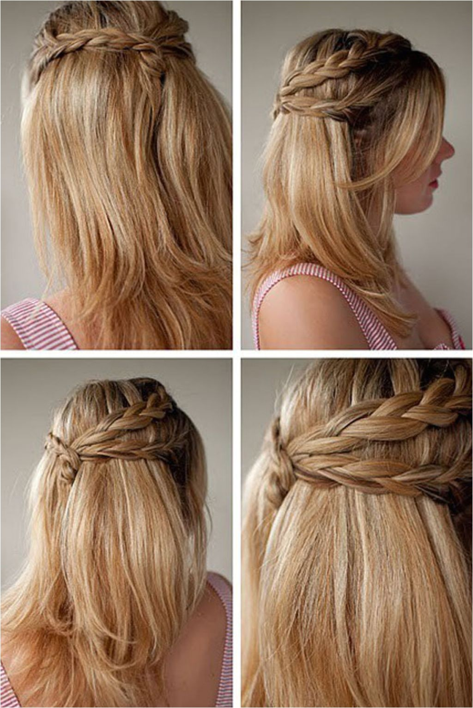 medium length hair hairstyles for school