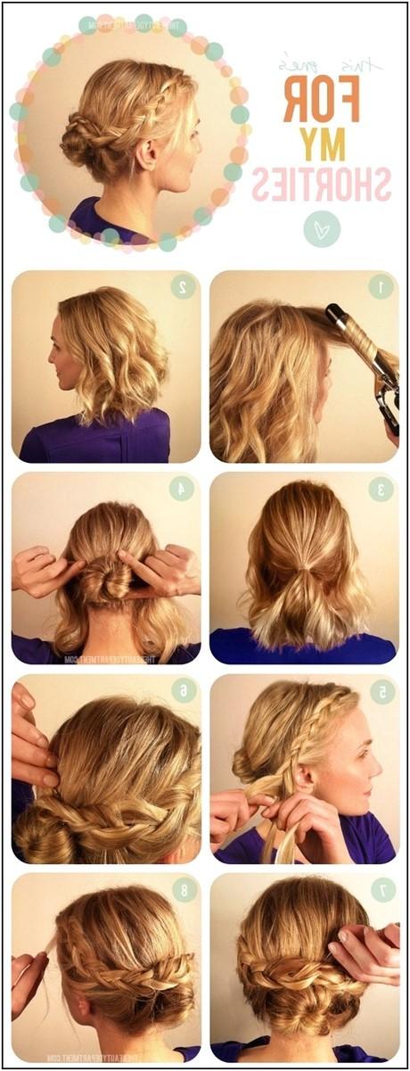 easy hairdos for medium length hair