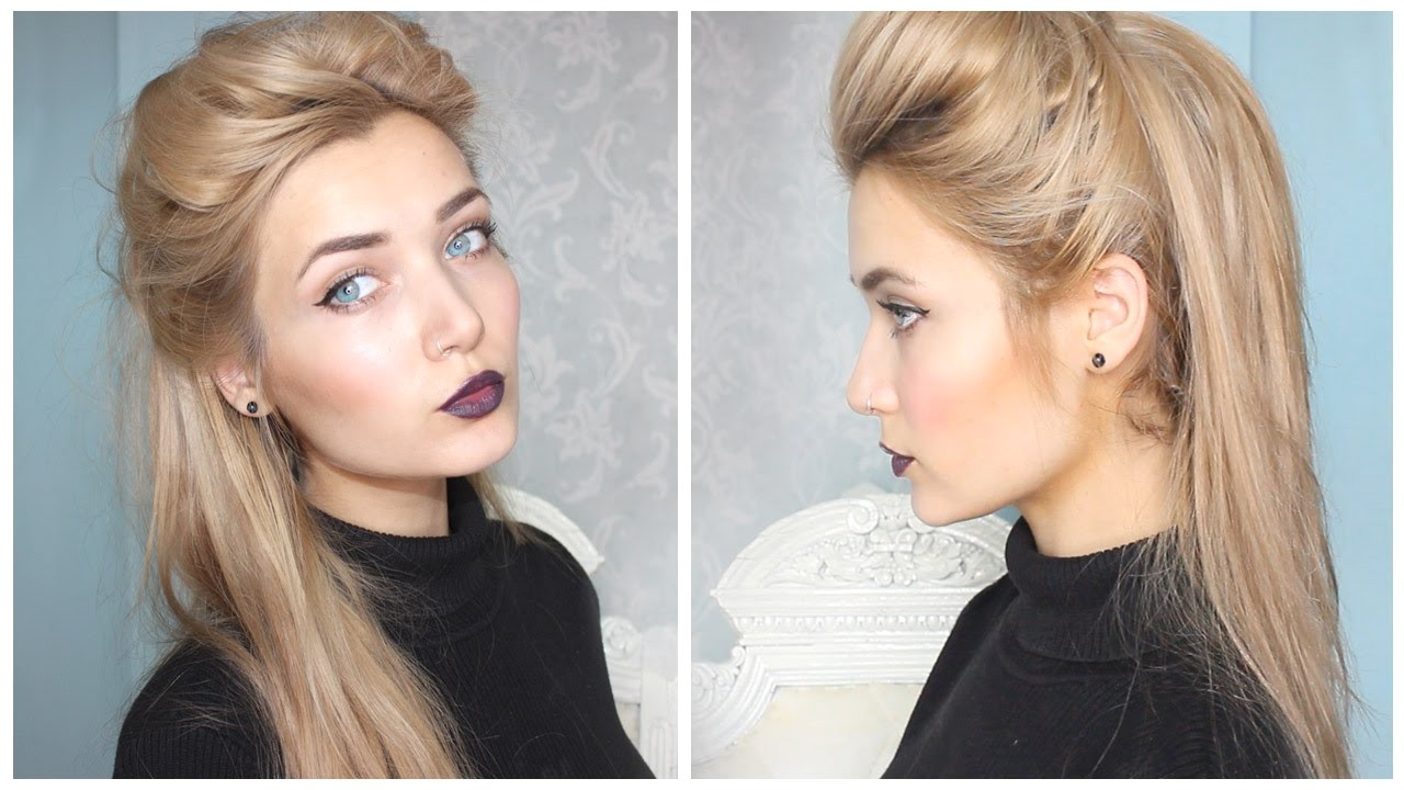 cute quick updo hairstyles