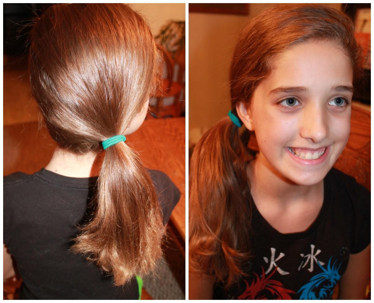 back school cute easy hairstyles side pony 6
