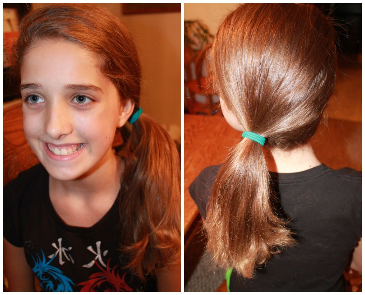 cute easy hairstyle you can make