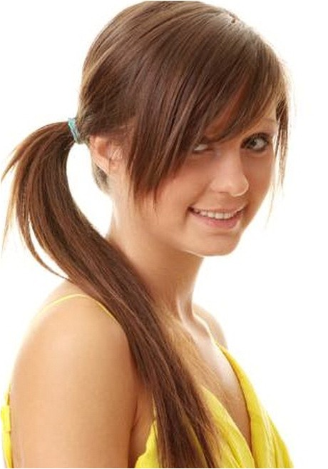 cute easy hairstyles for long hair