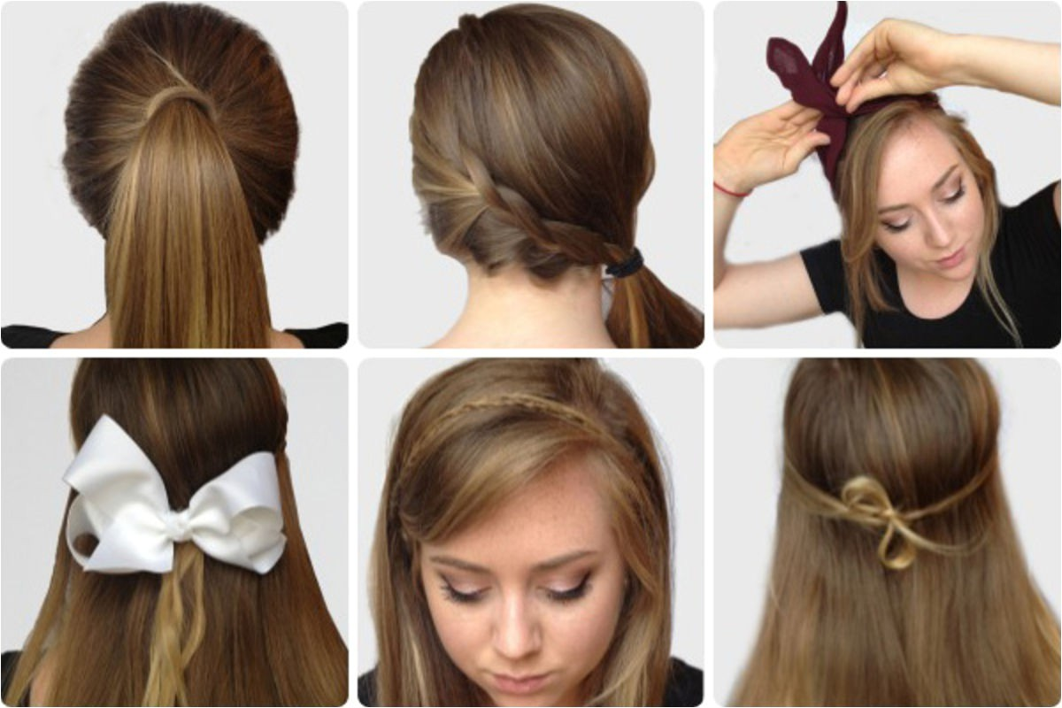 step by step photos of elegant bow hairstyles