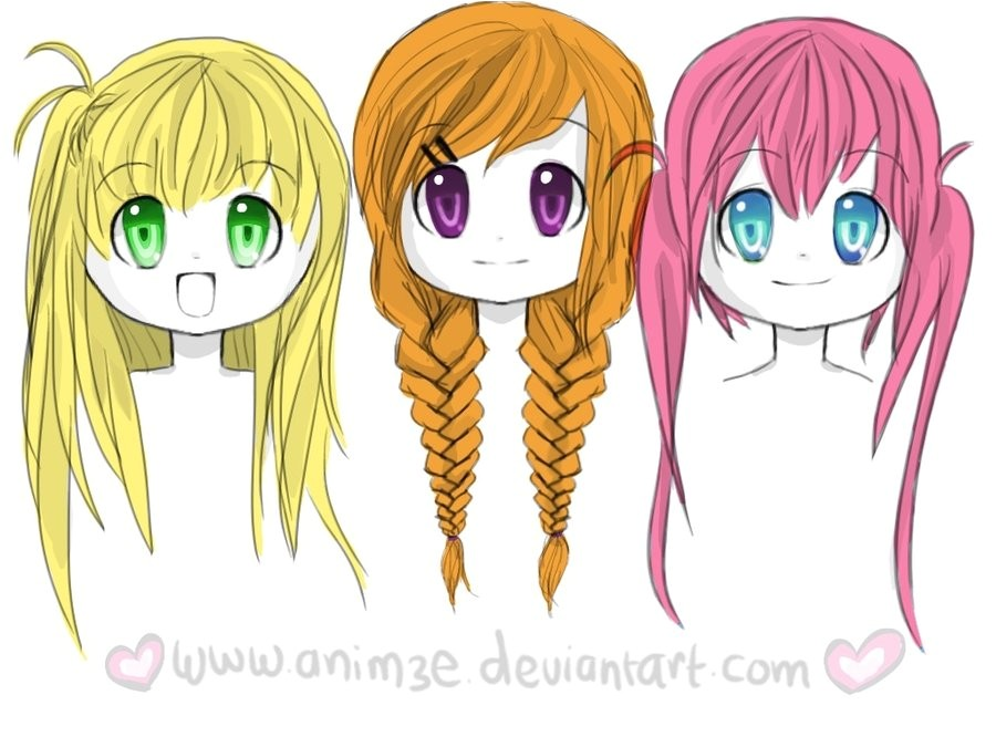 top 10 picture of anime girl hairstyles