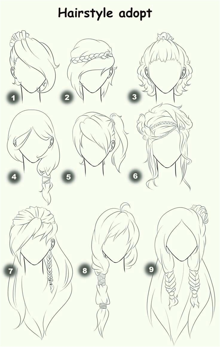 Cute Anime Hairstyles for Girls Mohawk Hairstyle for Women In 2018 Bouffant Hair Bob