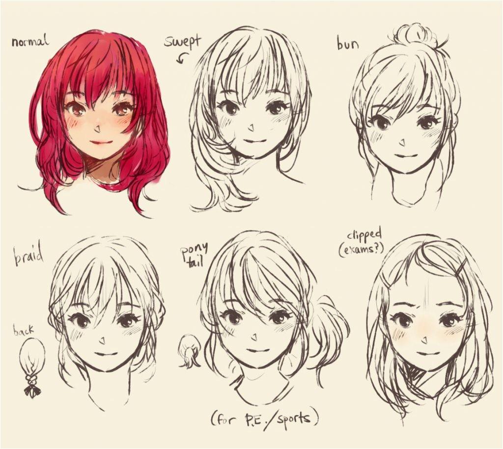 how to draw manga hair boy anime colorings enciclopedia us
