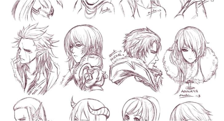 Cute Anime Hairstyles for Long Hair Cute Anime Hairstyles for Long Hair Women Hair Libs