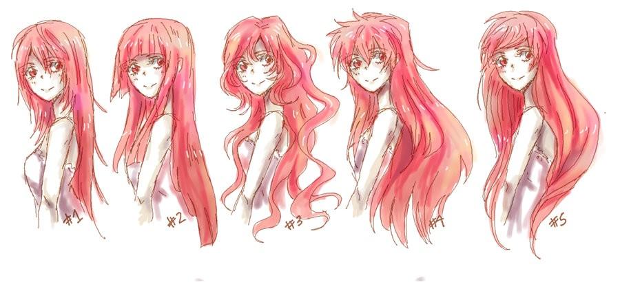 gabaritos de cabelos