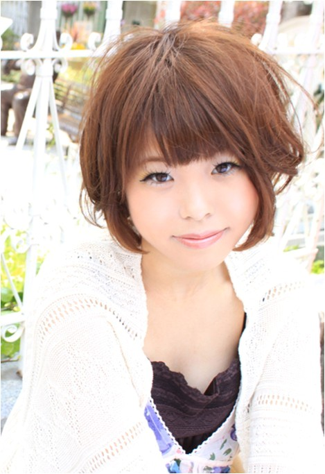 16 cute short japanese hairstyles for women