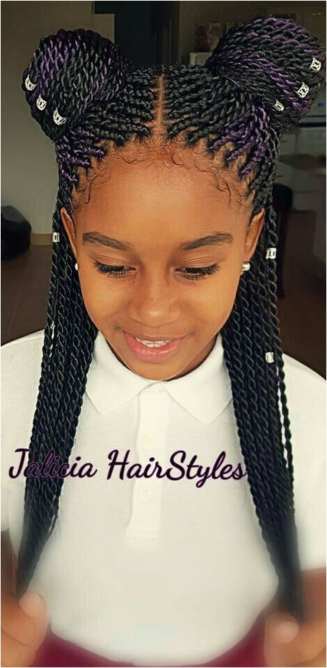 Cute Back to School Hairstyles for Black Girls 1