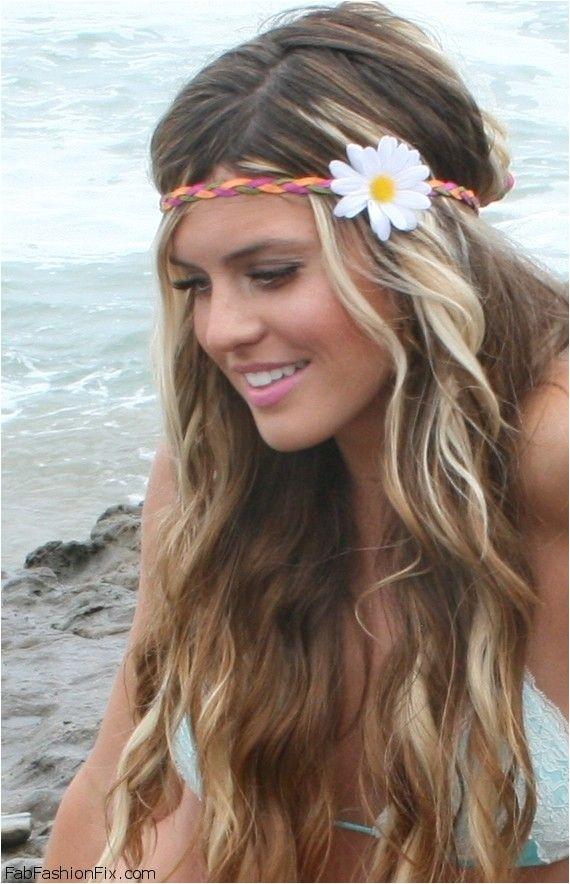 beauty beach waves hairstyle tutorial