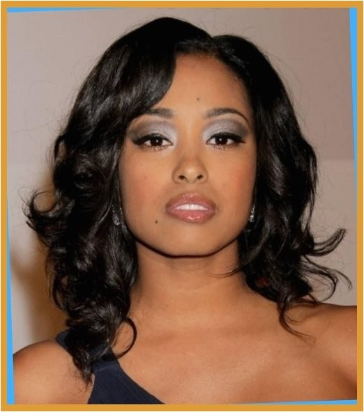 cute shoulder length hairstyles for black women hairstyles within hairstyles for medium length hair african american