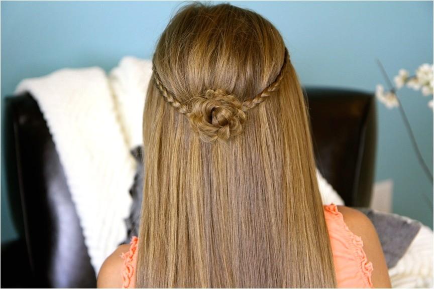 medium length hair cute braided hairstyles for 2