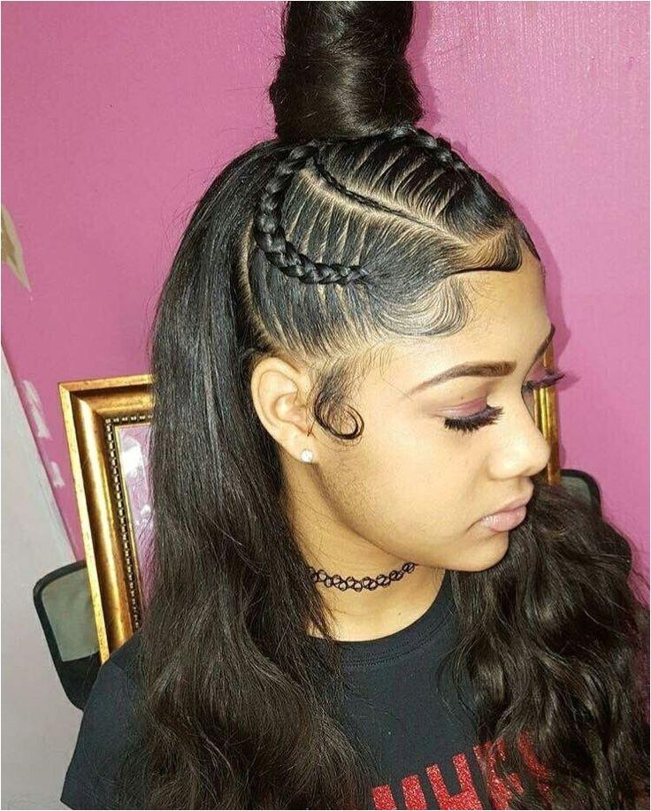 cute weave braided hairstyles