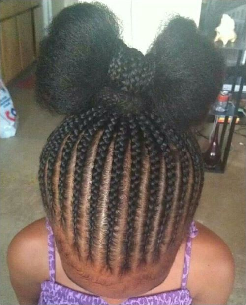 charming braided hairstyles kids natural hair