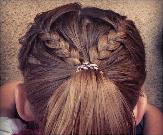 the cute braided hairstyles for kids