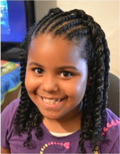 Cute Braiding Hairstyles for Little Black Girls Cute Braided Hairstyles for Black Girls