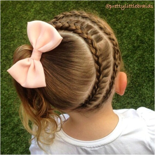 20 cute braided hairstyles for little girls