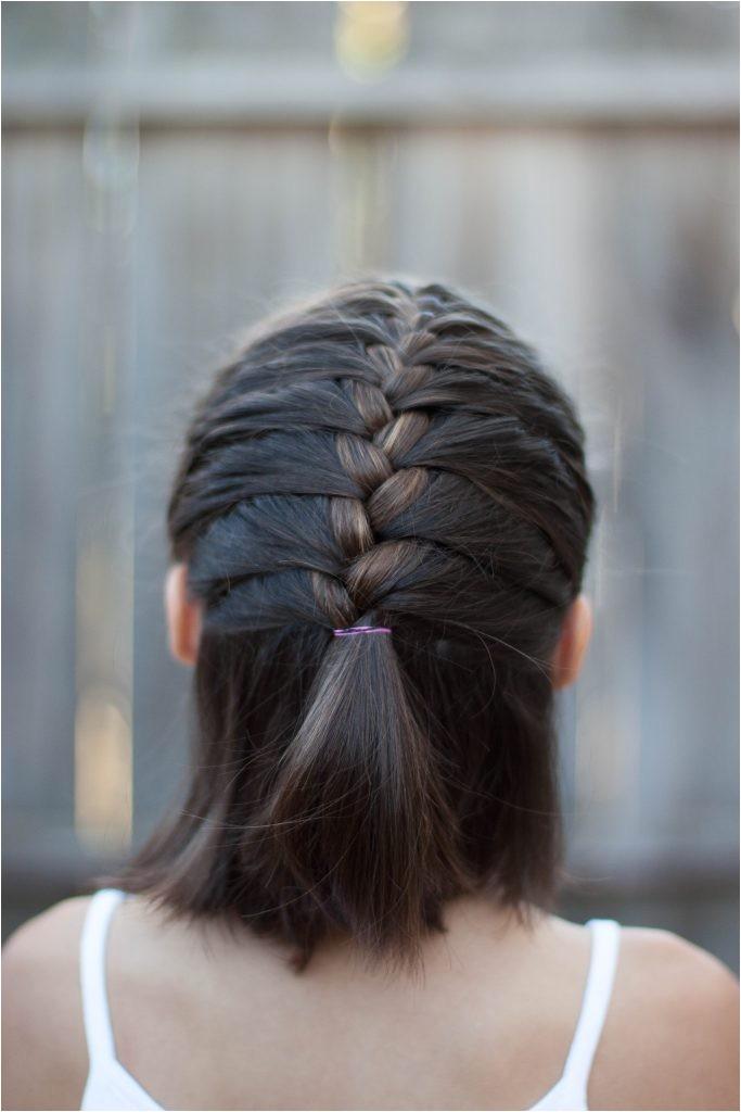 5 braids for short hair