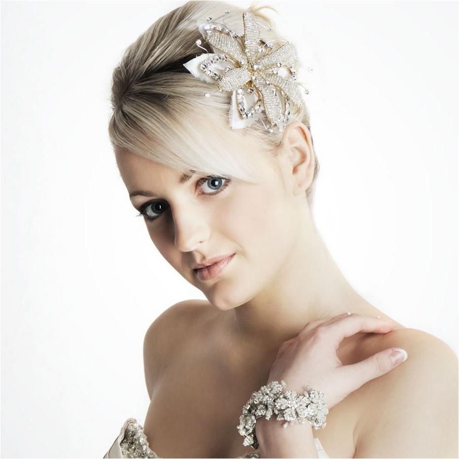 cute bridesmaids hairstyles short hair