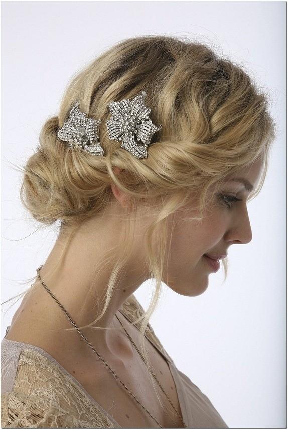 cute short hairstyles bridesmaids
