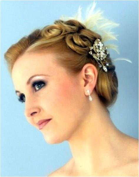 new cute short bridesmaid hairstyles