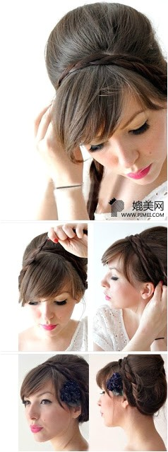 20 hairstyles braids ponytails buns more easy and cute