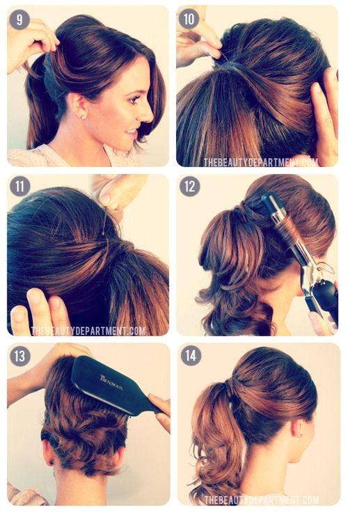 Cute Bump Hairstyles 1