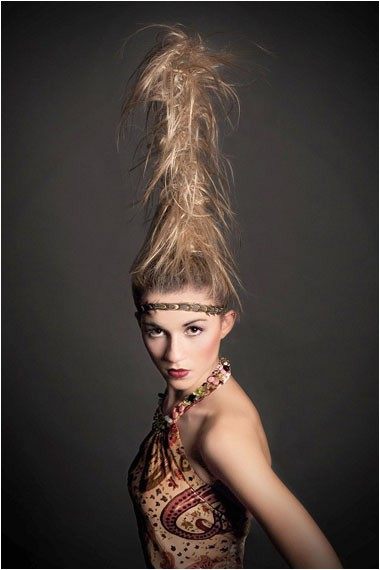 halloween inspired crazy hairstyles